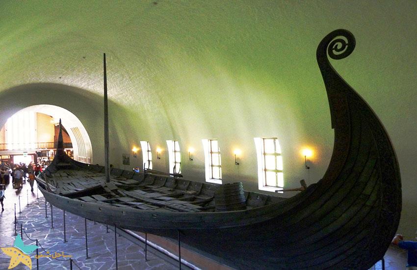موزه کشتی وایکینگها - جاذبههای گردشگری نروژ