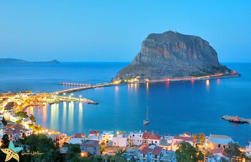 مونمواسیا - جاذبههای گردشگری یونان