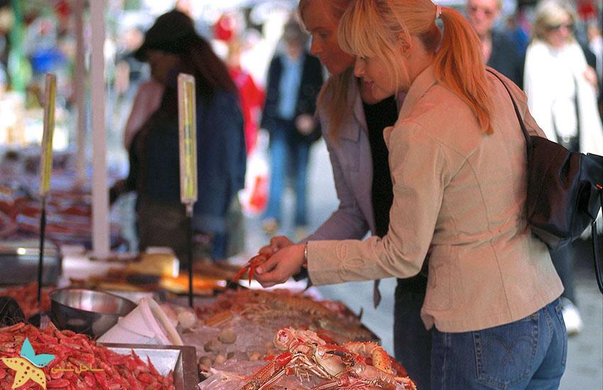 میدان بازار برگن - جاذبههای گردشگری نروژ