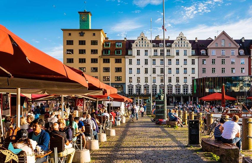 میدان بازار برگن