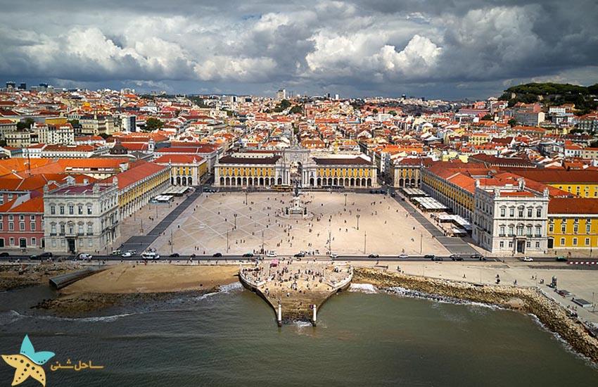 میدان تجارت - جاذبههای گردشگری پرتغال