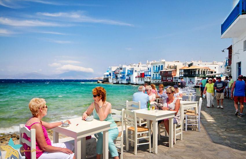 میکونوس - جاذبههای گردشگری یونان