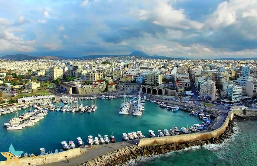 هراکلیون - جاذبههای گردشگری یونان