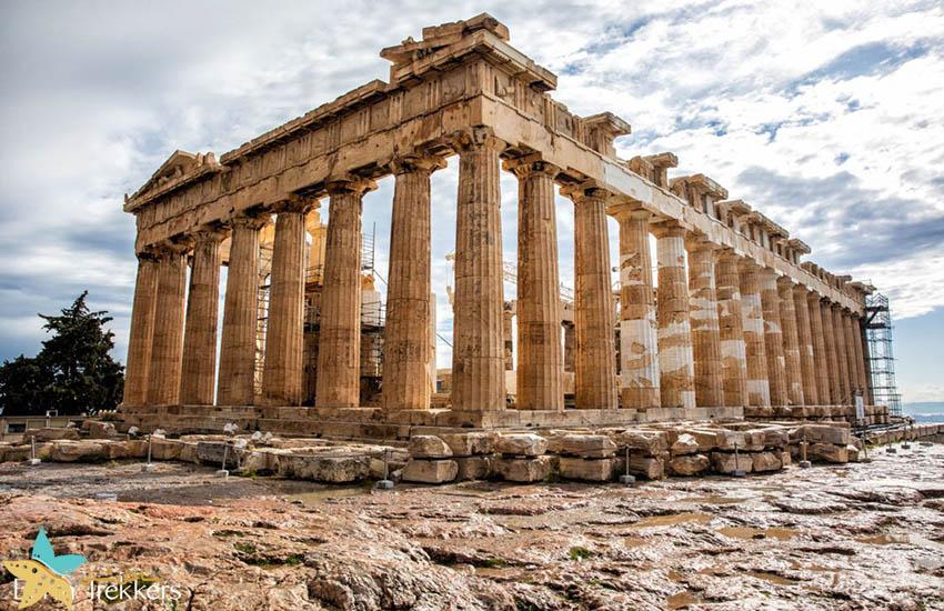پارتنون - جاذبههای گردشگری یونان