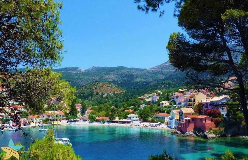 کفالونیا - جاذبههای گردشگری یونان
