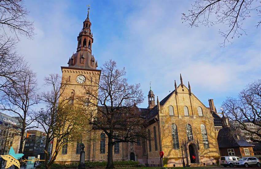کلیسای جامع اسلو - جاذبههای گردشگری نروژ