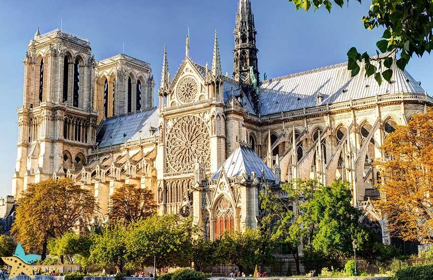 کلیسای نوتردام - جاذبههای گردشگری فرانسه