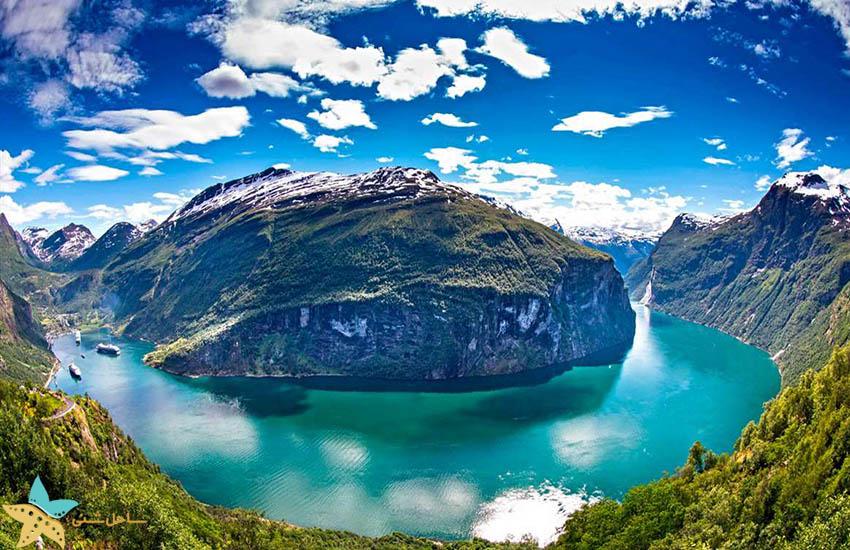آبدره گیرانگر - جاذبههای گردشگری نروژ
