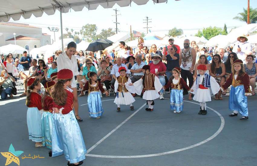 یک فستیوال در یونان