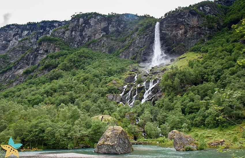 آبشار Rjoandefossen - فلام