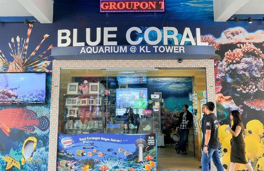 blue coral aquarium kl tower