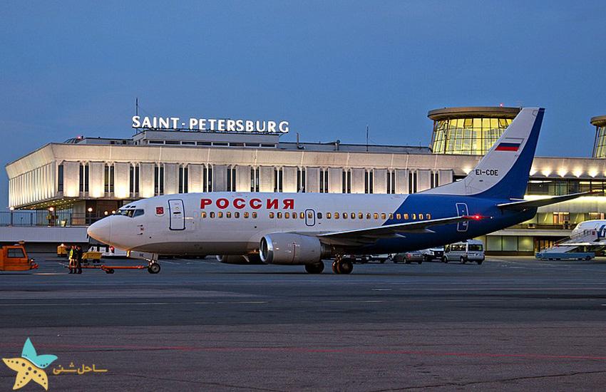 saint petersburg airport transport