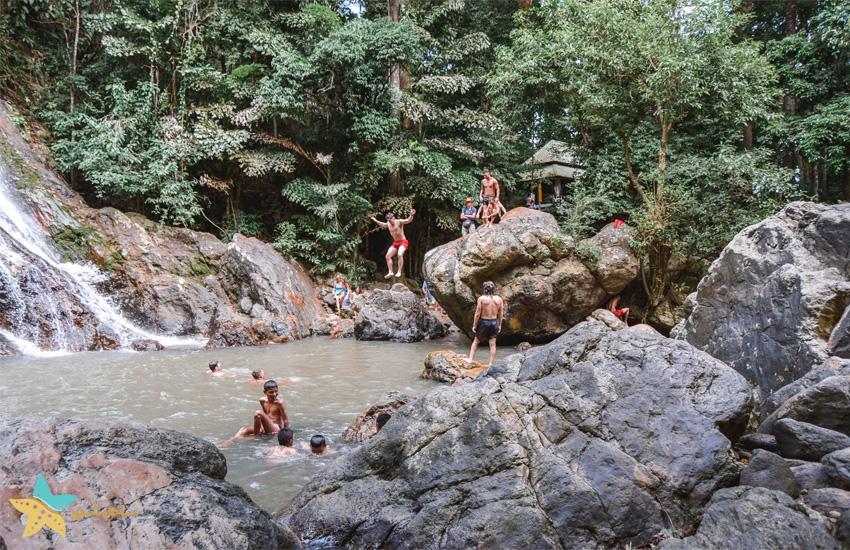 آبشارهای Namuang سامویی