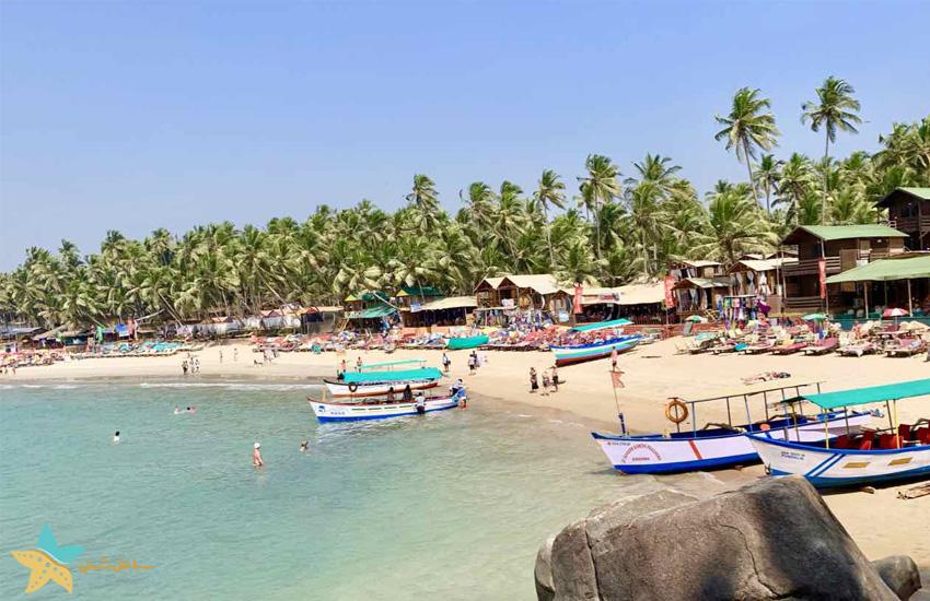 ساحل پالولم گوا هند
