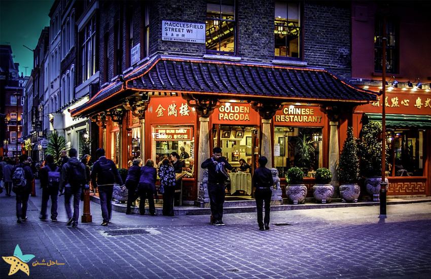 محلهی چینیها در لندن