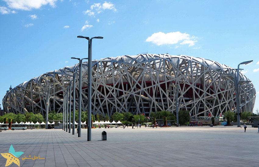 استادیوم پکن - جاذبههای گردشگری چین