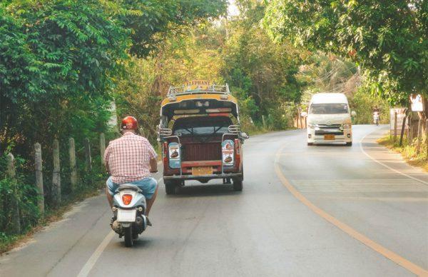 حمل و نقل عمومی در سامویی تایلند