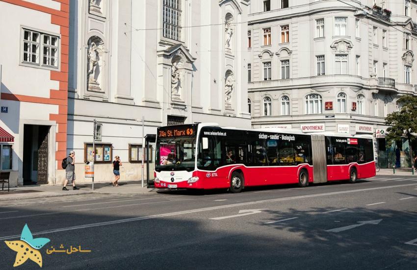 حمل و نقل عمومی در وین اتریش