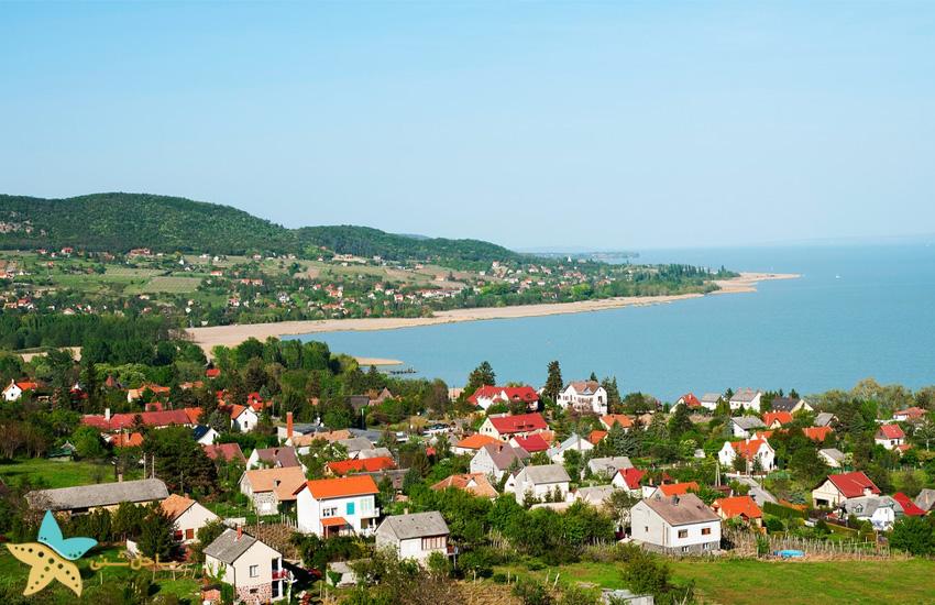 دریاچهی Balaton مجارستان