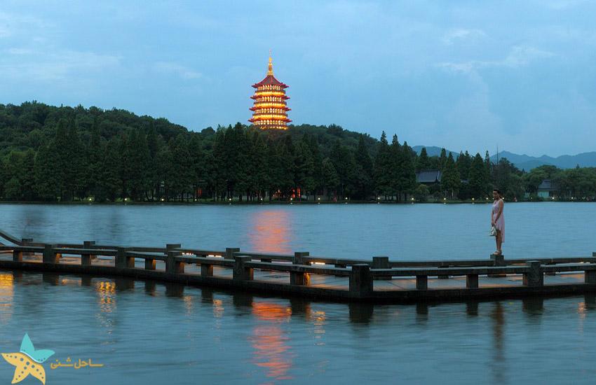 دریاچه غربی هانگزو - جاذبههای گردشگری چین