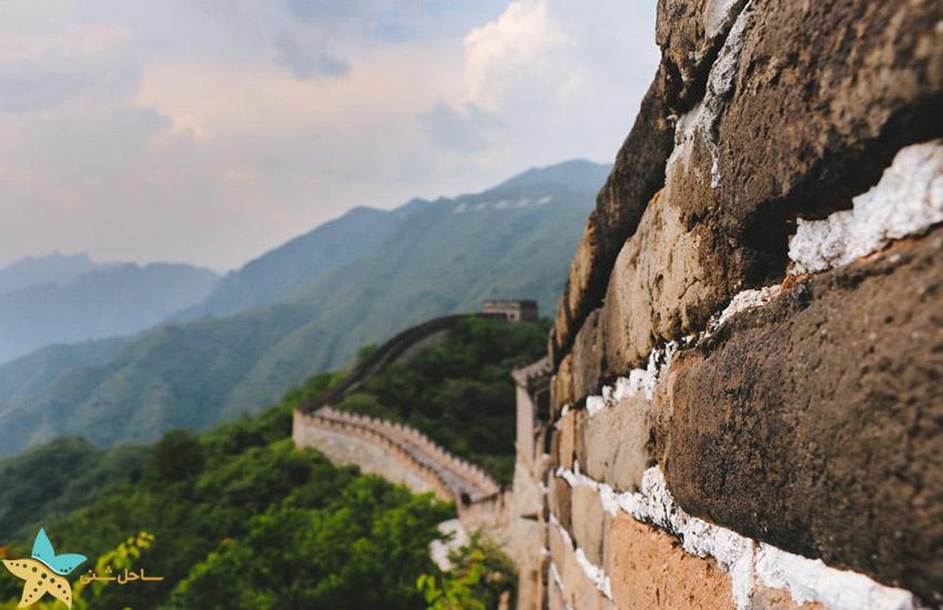 دیوار چین پکن - جاذبههای گردشگری چین