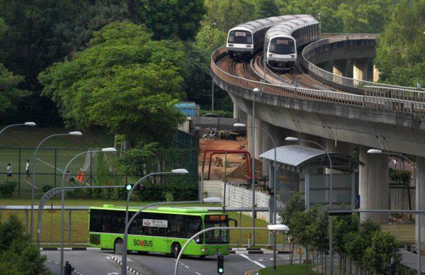 راهنمای حمل و نقل عمومی در سنگاپور
