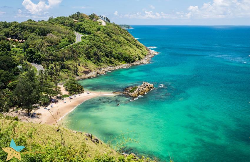 ساحل Nai Harn در Nai Harn