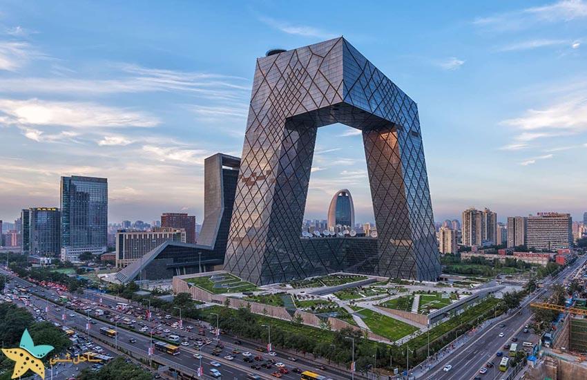 ساختمان تلوزیون مرکزی چین