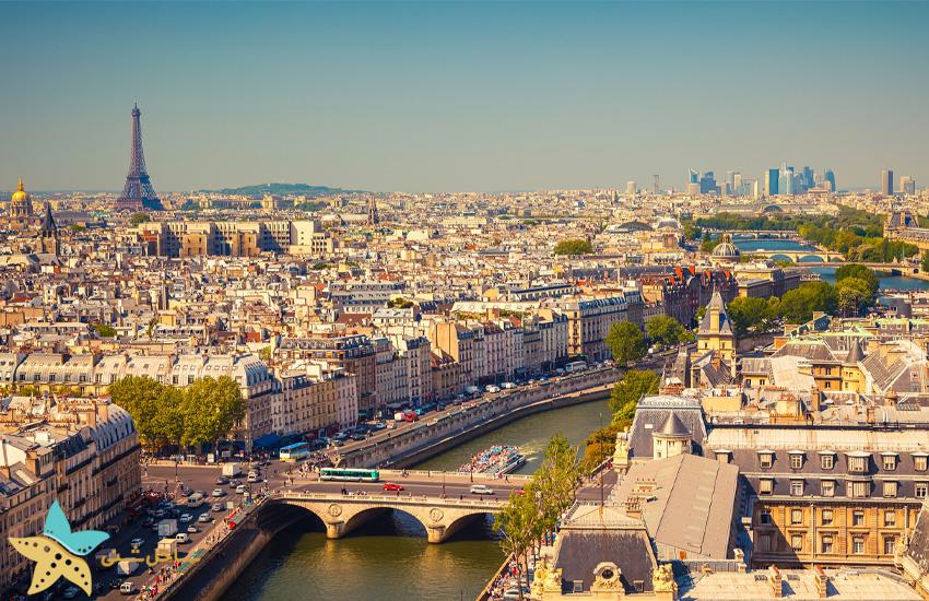 شهر پاریس در فرانسه