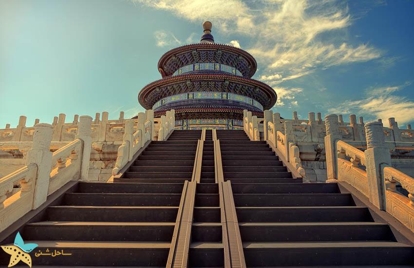 معبد بهشت - پکن - جاذبههای گردشگری چین