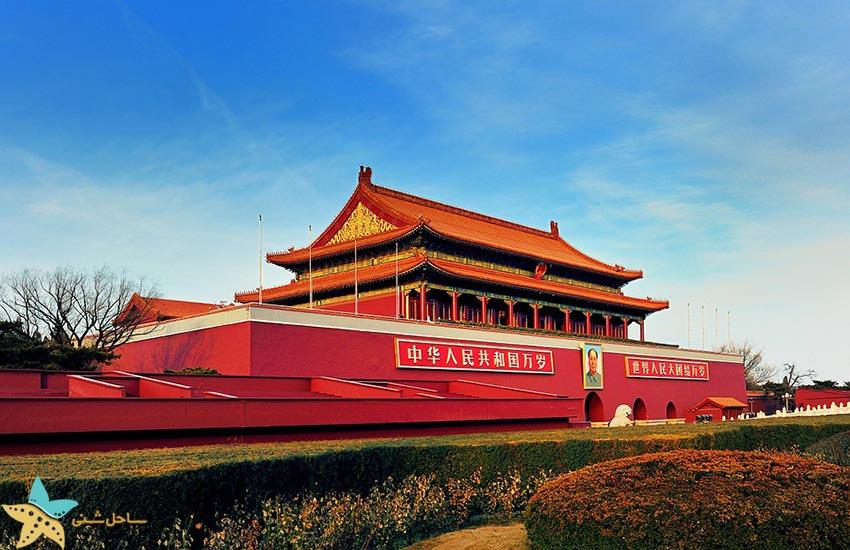 میدان تیان آنمن پکن - جاذبههای گردشگری چین