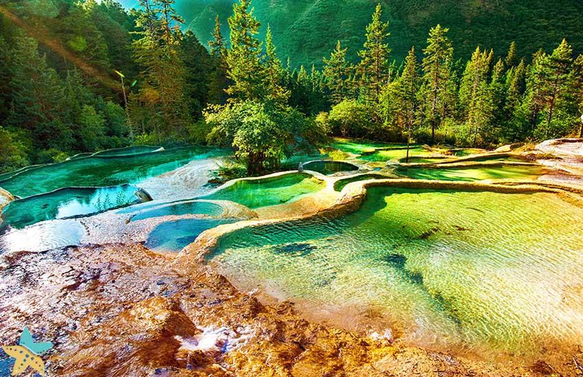 هوانگلونگ - جاذبههای طبیعی چین