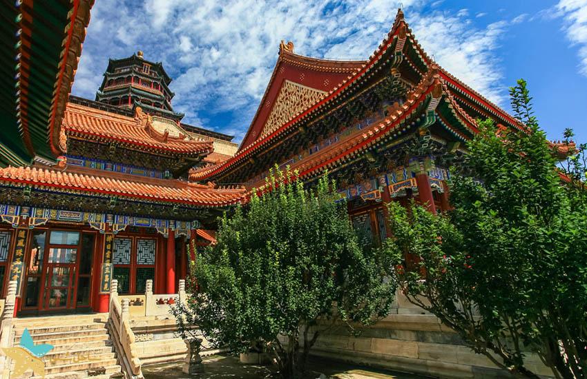 کاخ تابستانه پکن - جاذبههای گردشگری چین