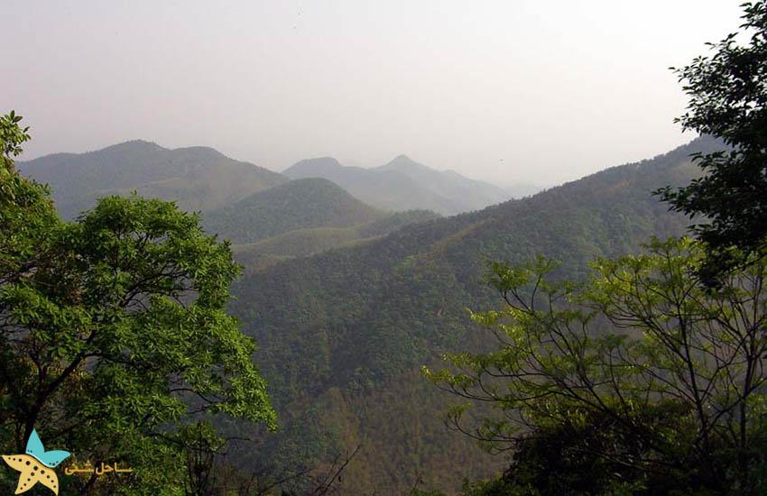 کوه موگان - جاذبههای گردشگری چین
