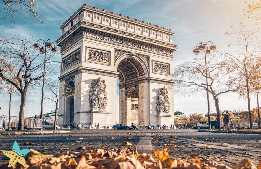 طاق نصرت پاریس | تور مجارستان ایتالیا فرانسه