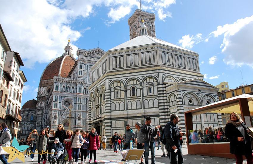تعمیدگاه سنت جان در شهر فلورانس ایتالیا