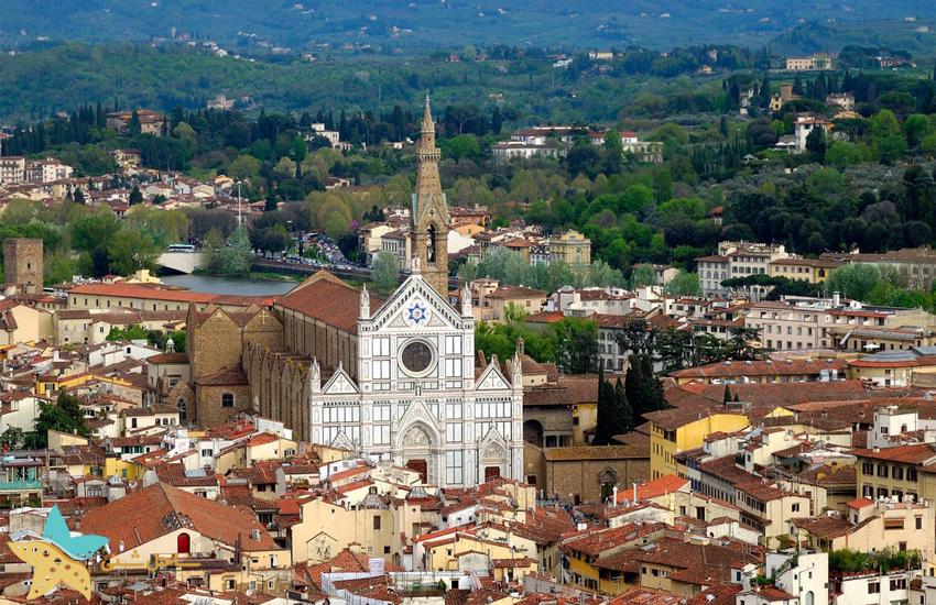 Santa Croce در فلورانس ایتالیا