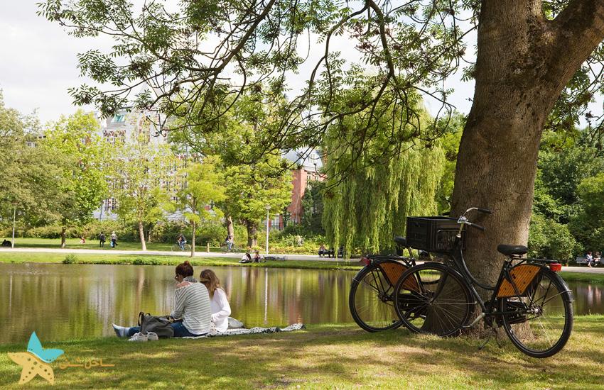 Vondelpark | تور پاریس و آمستردام