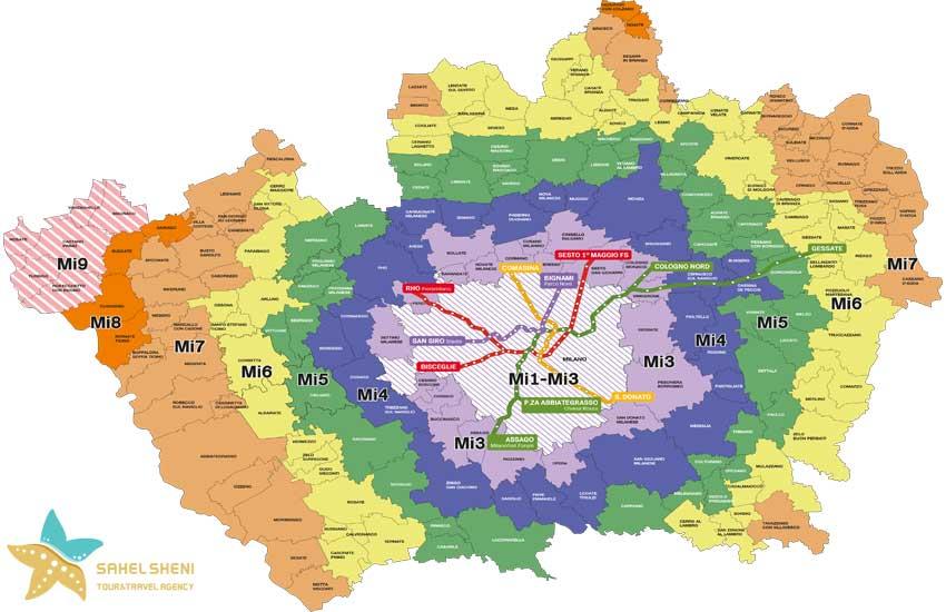 حمل و نقل عمومی در میلان