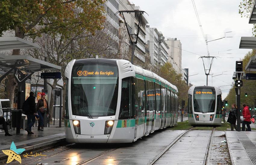 سیستم حمل و نقل عمومی در پاریس