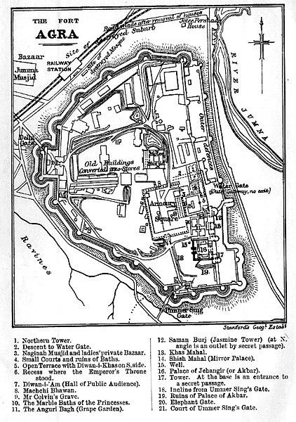 قلعه آگرا