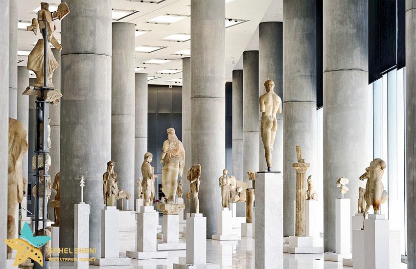 موزهی آکروپولویس در یونان