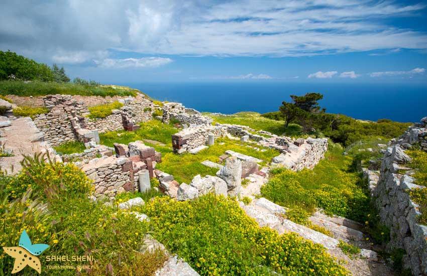 جاهای دیدنی جزیره سانتورینی