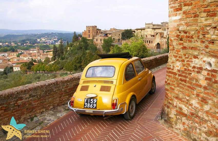 رانندگی در ایتالیا