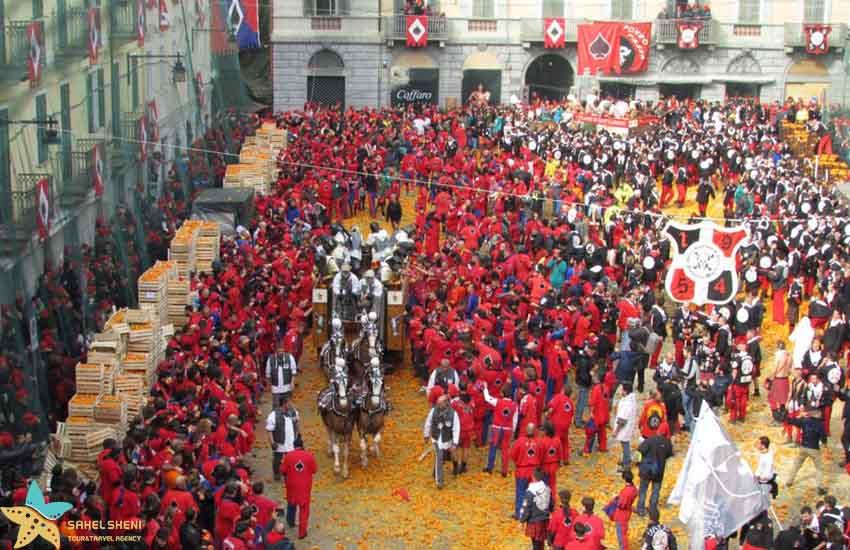 فستیوال پرتقال ایتالیا - فستیوالهای غذای دنیا
