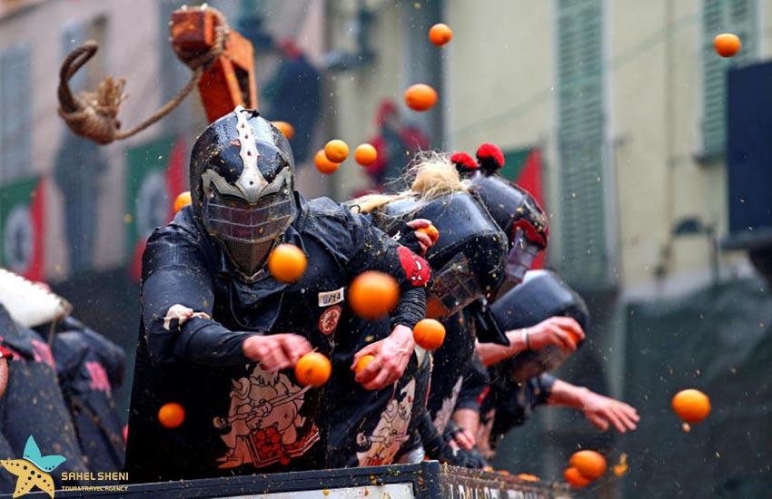 فستیوال پرتقال - فستیوالهای غذای دنیا