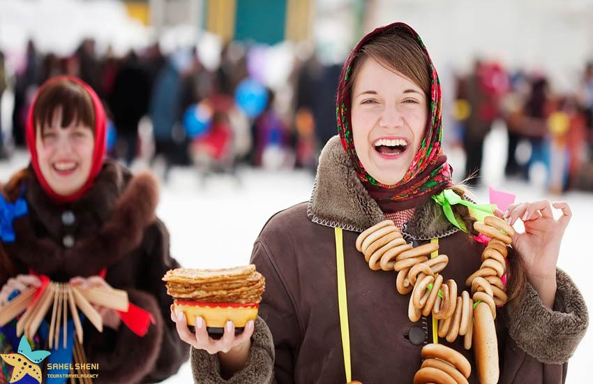 فستیوال پنکیک روسیه - فستیوالهای غذای دنیا
