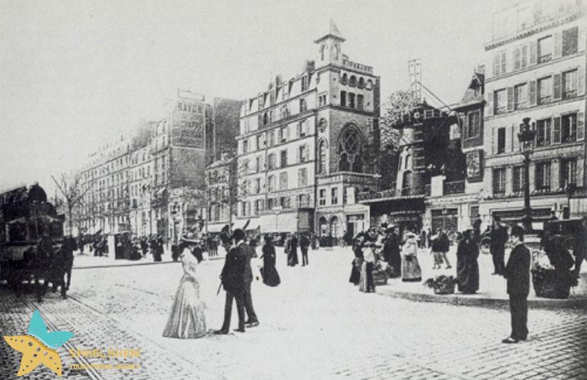 مونتماتر در قرن نوزدهم