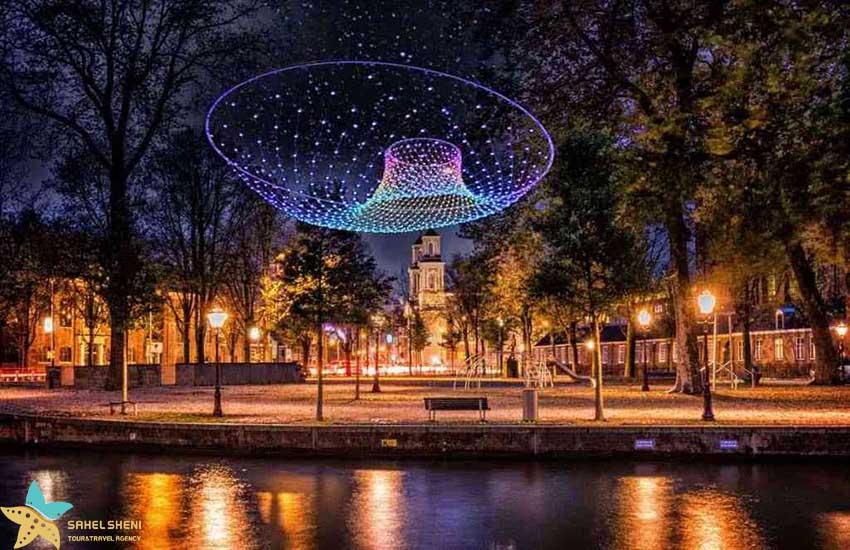 هلند - جشن نور آمستردام - فستیوالهای زمستانی دنیا