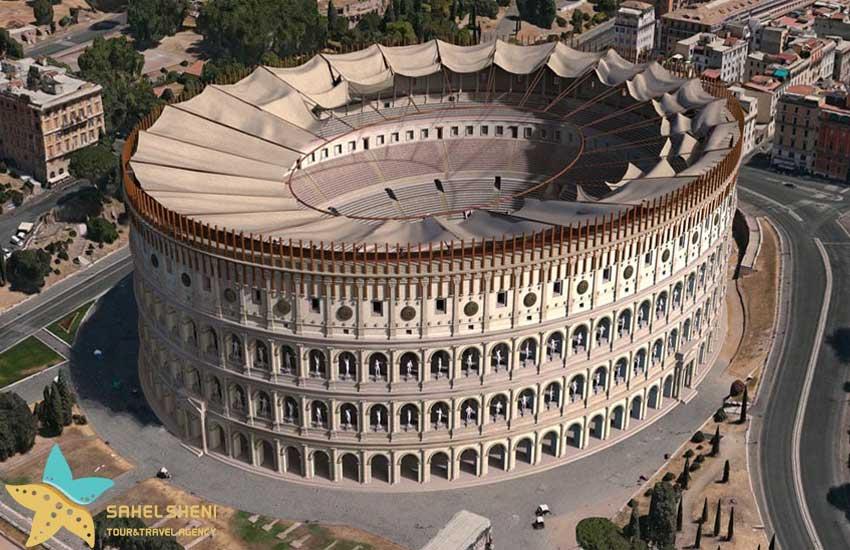 کولوسئوم در رم ایتالیا
